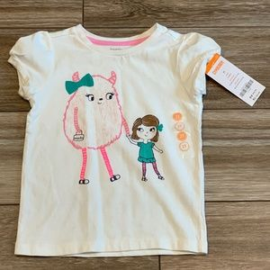 Gymboree Monster Pal Tee NWT! Size 2T